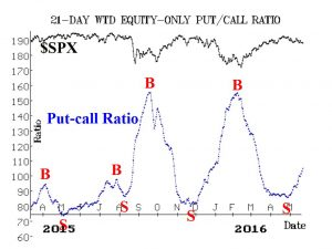 Put Call Ratio May 20